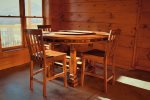 Elk Lodge Lower level card table/pub style seating