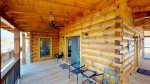 Elk Lodge decks are built for relaxation and enjoying the peace, quiet, and beautiful views