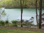 Lakeside Dixie Dream has a smooth path to its private dock on Norris Lake