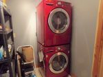 Oaklynn`s Oasis has a washer and dryer for guest`s to use