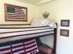 The patriot Double/twin bunk