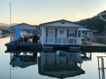 The patriot- Guests will need to bring a boat to access the floating house