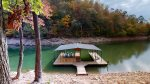 Young Mountain Cove-Private covered Dock in Private cove