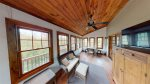 Young Mounatin Cove Screened porch