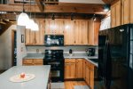 Ma Cook Lodge has a dishwasher for easy cleanup during your Norris Lake vacation