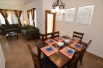 San Felipe rental villa 373 - dining tabel with chairs
