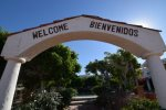 Hacienda del Mar San Felipe welcome sign