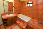 El Dorado Ranch Rental - 1st full bathroom with bathtub