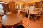 El Dorado Ranch Rental - dining table
