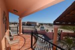 San Felipe Dorado Mountain side Casa Fiesta Balcony