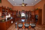 San Felipe Dorado Mountain side Casa Fiesta kitchen