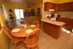 Casa Sherwood El Dorado Ranch San Felipe Vacation Rental House - kitchen and living room