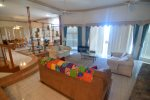 Casa Matas San Felipe rental home - living room with patio access