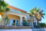 Casa Matas San Felipe rental home - beach side house view