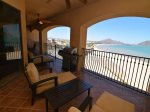 Playa del Paraiso Resort San Felipe balcony with BBQ