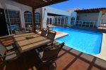 La Hacienda Casa Nora - poolside furniture