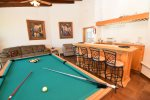 La Hacienda San Felipe Casa Nora rental house - pool table bar area