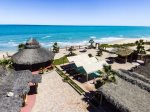Rancho Percebu San Felipe - pool table in living area