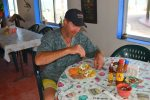 Enjoy your morning coffee or sunset in this on-site palapa