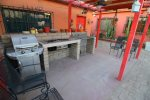 Casa Oasis: Downtown San Felipe vacation rental - middle patio ping pong table