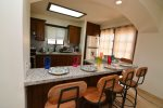 La Hacienda San Felipe condo 5 - kitchen dinning/breakfast counter