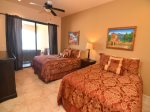 Playa del Paraiso 504 - first bedroom 1 queen size and 1 full size bed