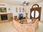 Casa Serenity San Felipe Mexico Beachfront rental house - Living Room with satellite TV
