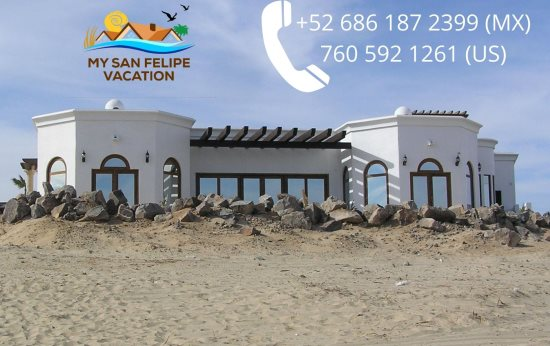 Serenity by the Sea San Felipe beachfront vacation rental