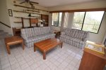 La Hacienda San Felipe Vacation Rental Casa Miller - 2nd living room with 2 bed sofas