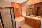 San Felipe rental villa 17-3   -  master bathroom
