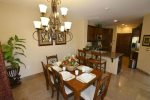 El Dorado Ranch rental condo - dining room