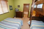 el dorado san felipe rental - second bedroom bunk bed