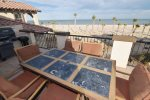 san felipe baja villa 77-3 dorado ranch out door table beach view