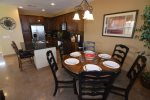 san felipe baja villa 77-3 dorado ranch dinner table and kitchen