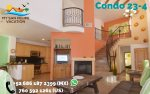 San felipe baja dorado ranch condo 234 living room tv fire place