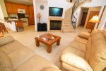 El dorado ranch condo 9-4 - living room tv view