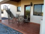 Casa Dooley San Felipe rental home - Rear patio