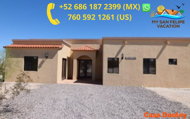San felipe rental home casa dooley rental in el dorado ranch for Casa rambler vs casa ranch