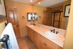 san felipe baja el dorado ranch condo 76-4 first full bathroom double sink