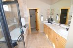 san felipe baja el dorado ranch condo 76-4 double sink bathroom with shower and tub