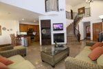 El Dorado Ranch San Felipe rental villa 134 - wall mounted flat screen tv