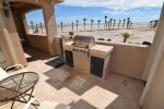 San Felipe beach villa 741 - patio