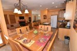 beautiful beach themed San Felipe rental villa - dining table