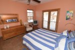 beautiful beach themed San Felipe rental villa - Bedroom couch
