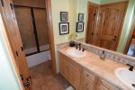 beautiful beach themed San Felipe rental villa - Second bathroom