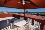 san felipe baja petes camp getaway roof top table