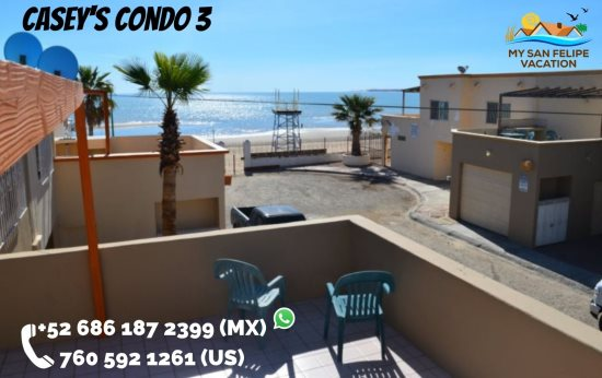 downtown san felipe condo 3 amazing beach view