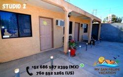 Downtown San Felipe Studio 2 FREE WIFI AND CABLE TV