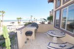 el dorado ranch beach san felipe baja first floor balcony with marmol table