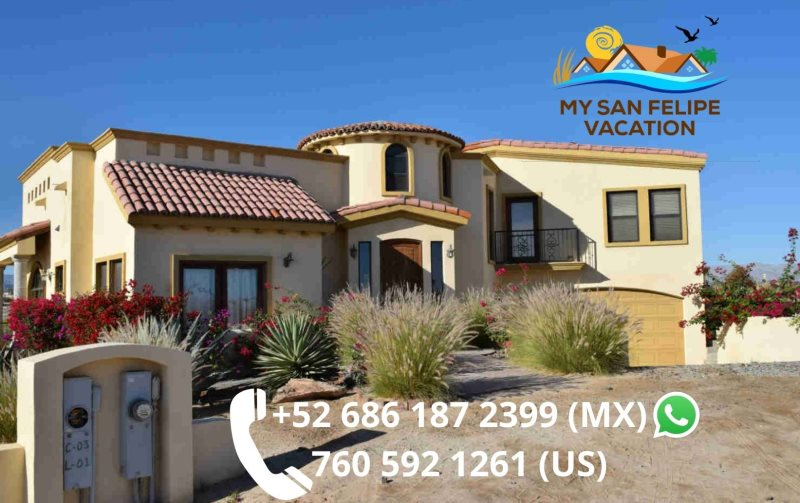 Luxury 4 Bedroom San Felipe Vacation Al